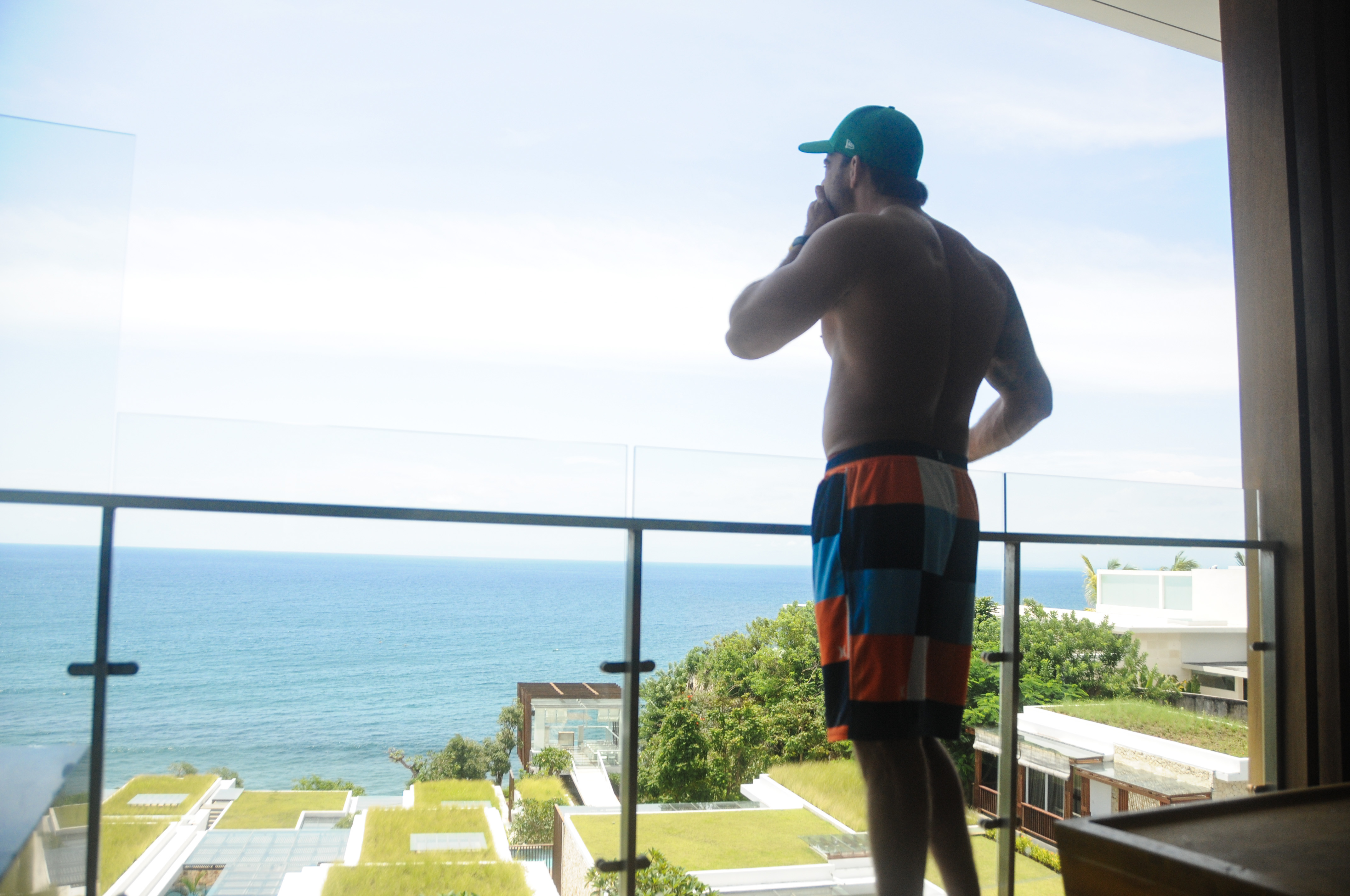 Vista do nosso quarto no Hotel Anantara