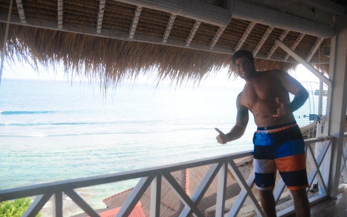 Vista do quarto no hotel SAL