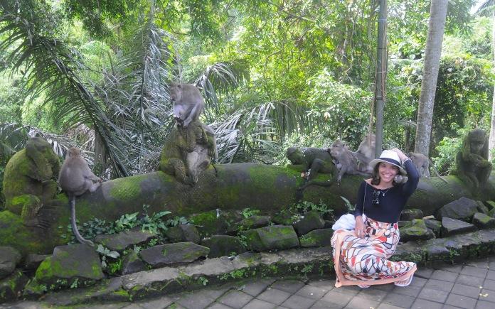 Eu e os Macacos- MONKEY FOREST