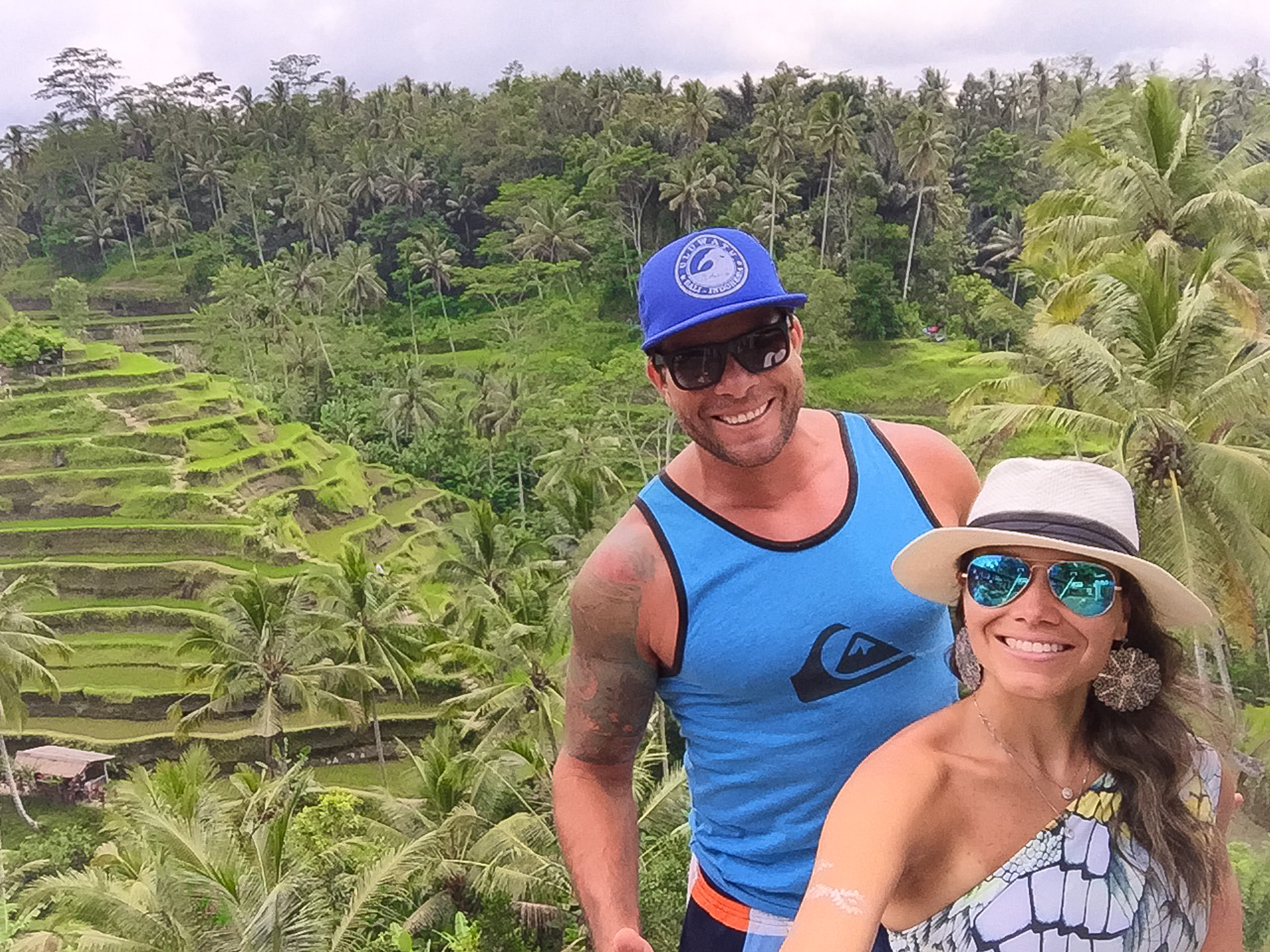Gostamos tanto dos terraços de arroz que voltamos várias vezes <3 Lugar incrivelmente lindo