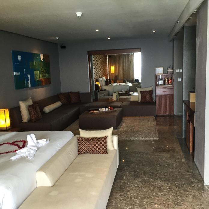 Nosso quarto no Hotel Anantara