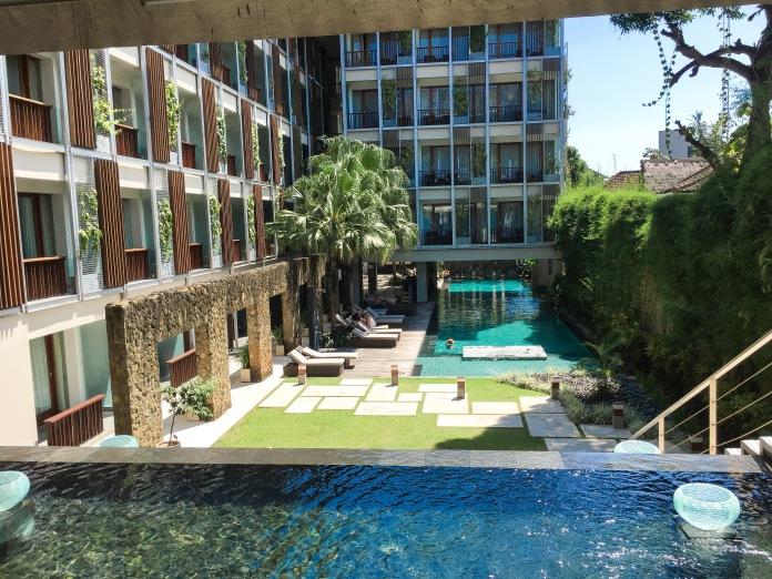Piscina do HAVEN hotel em Seminyak--TOP!