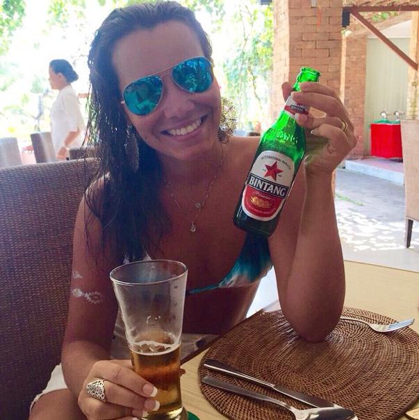 Bintang CLÁSSICAAA!!! A cerveja mais exclusiva do mundo, você só encontra lá, não pode deixar de tomar.