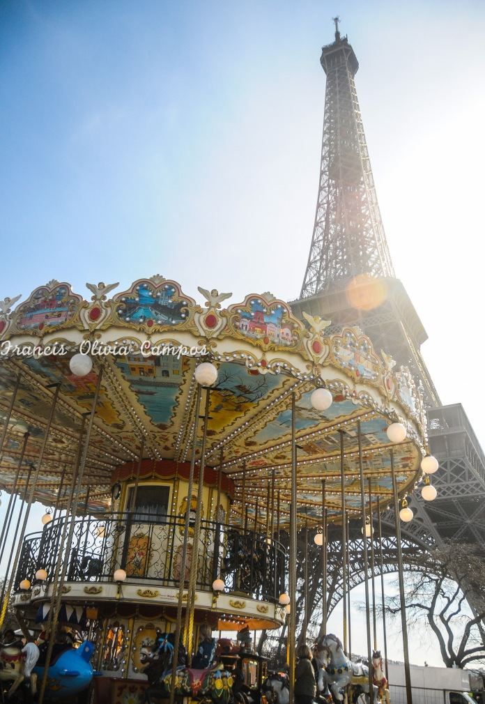 Carrossel da Torre Eiffel <3